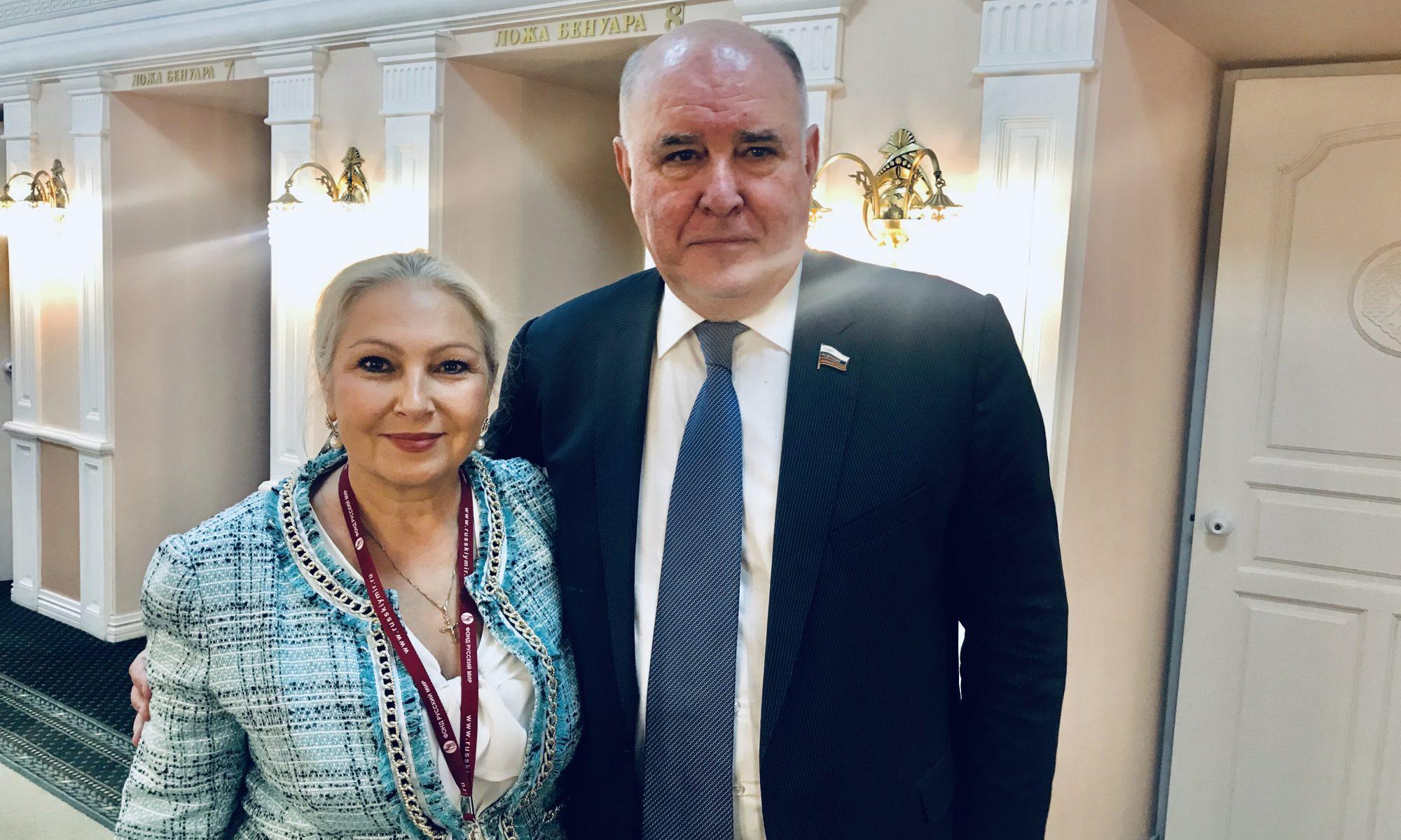 Встреча с Сенатором - Общественная дипломатия