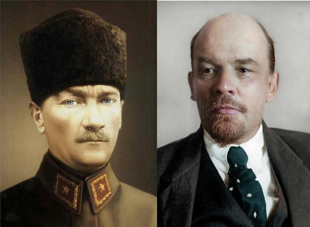 Ленин и Ататюрк
